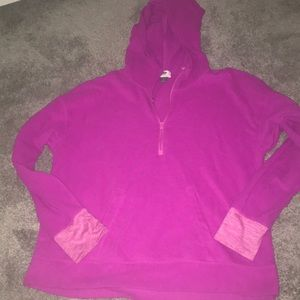 Pink fleece zip up